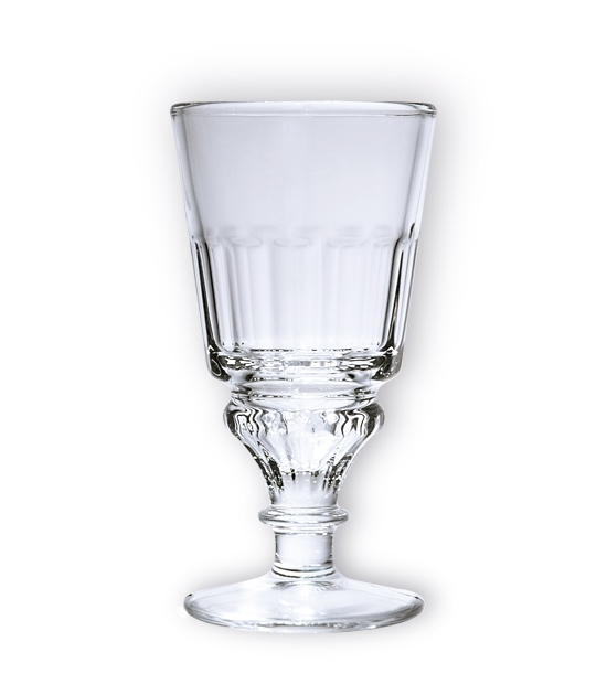 Absinthe Pontarlier Glass included in the gift box - made for serving absinthe drink the traditional way.