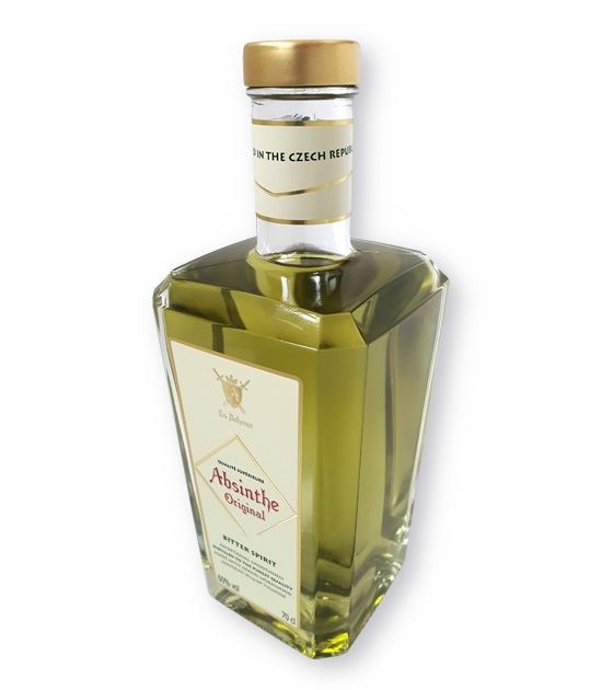 Absinthe Bitter Spirit - new, redesigned, modern bottle with traditional absinthe.