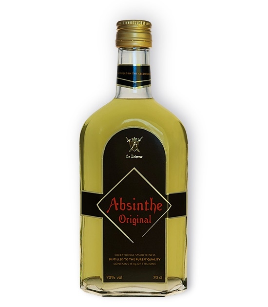 Absinthe Original Bottle - Strong, Original 70% Absinthe with Thujone